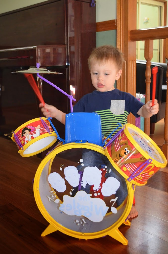 3rd Birthday Drum Kit for Triplet