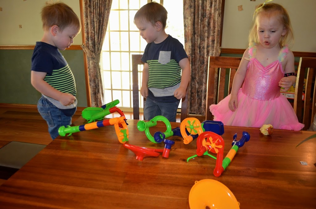 Triplet's Marble Run Third Birthday