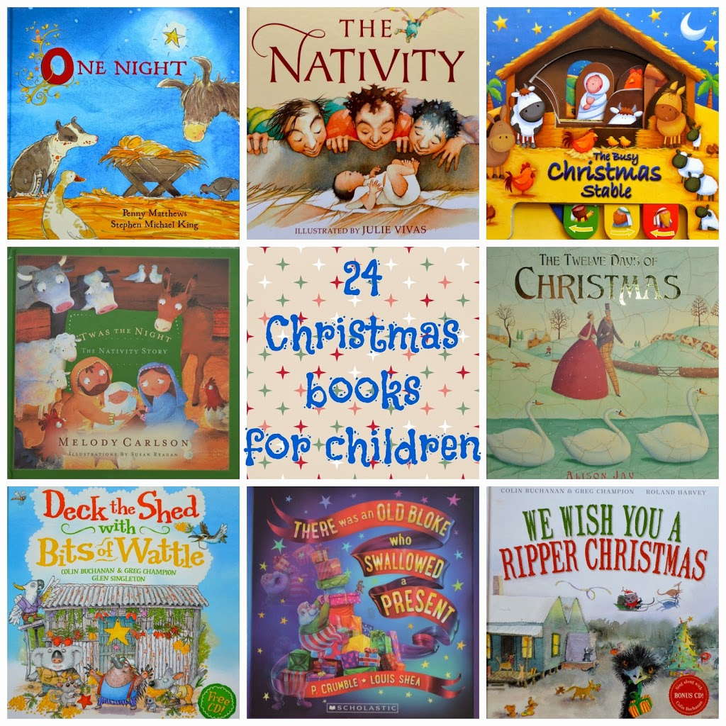 24 books about christmas